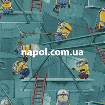 Детское ковровое покрытие Minions Factory 27