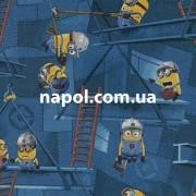 Детское ковровое покрытие Minions Factory 77