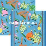 Детский ковролин Карандаши синие