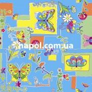 Ковер в детскую комнату Бабочки С5