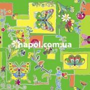 Ковер в детскую комнату Бабочки С6