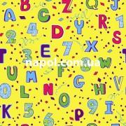 Ковер для детской комнаты Буквы и Цифры 2
