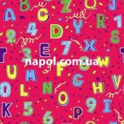 Ковер для детской комнаты Буквы и Цифры 4