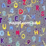 Ковролин в детскую комнату Буквы и Цифры