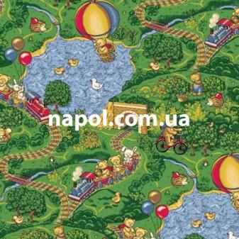 Детский коврик для игр Малиновка