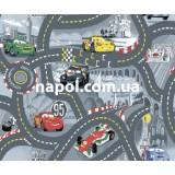 Детский ковер тачки Races 2
