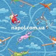 Ковровое покрытие для детской комнаты Самолет