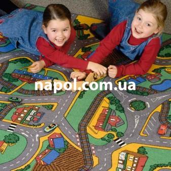 Ковровое покрытие в детскую комнату Playtime