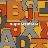 Линолеум детский Bingo Alphabet 65