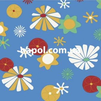 Линолеум детский IVC Bingo Flower 50