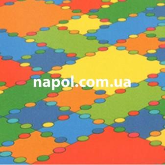 Линолеум в детскую Kids Maze 247D