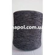 Нить для оверлока ковров меланж серый