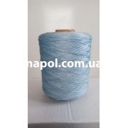 Нить для оверлока ковролина голубая