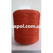 Нитки для коврового оверлока красно-терракотовые