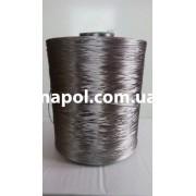 Нить для оверлока ковролина металлик темно-серый