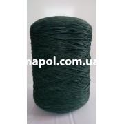 Нить для оверлока ковров меланж темно-зеленый