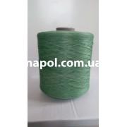 Нитки для коврового оверлока светло-зеленые