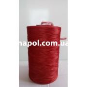 Нитки для коврового оверлока красные