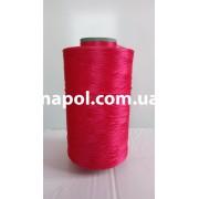 Нить для коврового оверлока темно-розовая