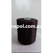 Нить для коврового оверлока темно-коричневая