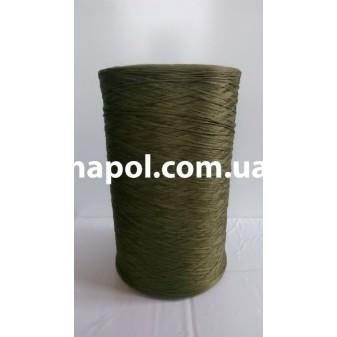 Нитки для оверлока ковролина хаки зеленая